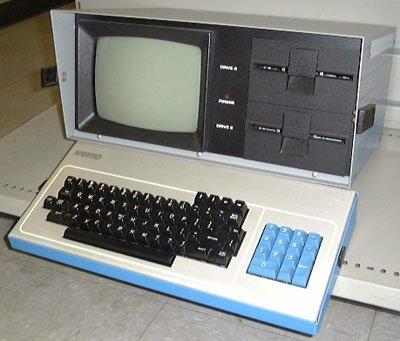 "My first PC, KayPro II ""Luggable"" Microcomputer"