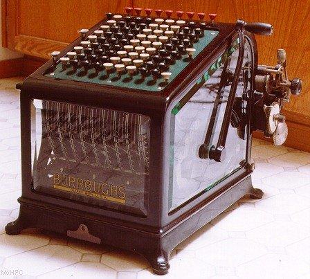 Burroughs Portable Calculator Class 1 Model 9
