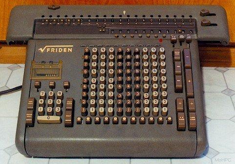 My second analog computer - Friden SRW Calculator