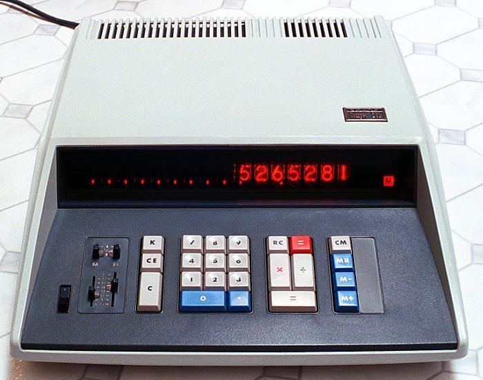 Sharp Electronic Calculator-late-60s