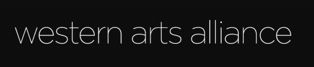 Logo Western Arts Alliance - Umbrella of Western Alliance of Arts Admins Foundation